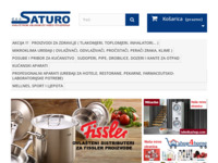 Frontpage screenshot for site: Saturo d.o.o. (http://www.saturo.hr/)