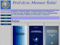 Frontpage screenshot for site: Mensur Šehić, Veterinarski fakultet (http://free-zg.htnet.hr/MensurSehic/)