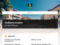 Slika naslovnice sjedišta: Vrbovec.hr - Službene stranice grada Vrbovca (http://www.vrbovec.hr/)