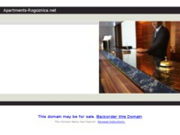 Frontpage screenshot for site: Apartmani Rogoznica (http://www.apartments-rogoznica.net/)