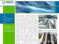 Frontpage screenshot for site: Akvaprojekt Split (http://www.akvaprojekt.hr/)