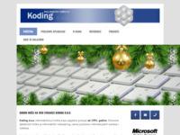 Slika naslovnice sjedišta: Koding d.o.o., poslovne aplikacije (http://www.koding.hr)
