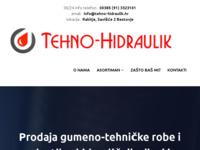 Slika naslovnice sjedišta: Tehno-Hidraulik (http://www.tehno-hidraulik.hr)
