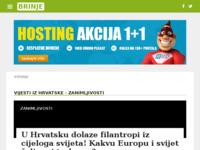 Slika naslovnice sjedišta: Internet portal - grad Mursko Središće (http://mursko-sredisce.com/)