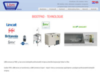 Frontpage screenshot for site: LBM commerce (http://www.lbm.hr/)