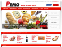 Frontpage screenshot for site: Pemo d.o.o. Dubrovnik (http://www.pemo.hr/)
