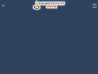 Frontpage screenshot for site: Parafin-produkt (http://www.svijece.com)