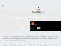 Frontpage screenshot for site: International Calvados club Croatia (http://www.calvadosclub.com)