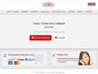 Frontpage screenshot for site: Prijevodi sa i na poljski jezik. (http://www.chorwacki.webd.pl)