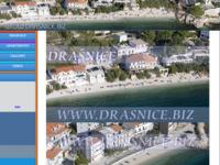 Frontpage screenshot for site: Drašnice - malo staro tipično dalmatinsko mjesto (http://www.drasnice.biz)