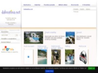 Frontpage screenshot for site: Agencija dalmatina.net (http://www.dalmatina.net/)