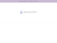 Frontpage screenshot for site: Apartmani Diana u Baški na otoku Krku (http://www.apartmanidiana.com)