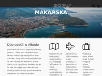 Frontpage screenshot for site: Albedo d.o.o. za promet nekretninama (http://www.albedonekretnine.hr/)