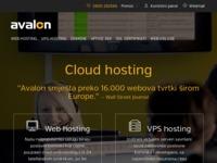 Frontpage screenshot for site: Klik - foto i video (http://www.klik.avalon.hr/)