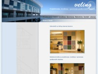 Frontpage screenshot for site: Veling d.o.o. (http://www.veling.hr/)