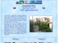 Frontpage screenshot for site: Aapartman Mršić, Podgora (http://free-st.htnet.hr/mrsic)