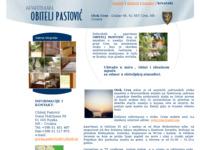 Frontpage screenshot for site: Apartman obitelj Pastović (http://www.pastovic-apartman-cres.hr/)