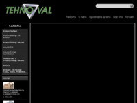 Frontpage screenshot for site: Tehno-Val d.o.o. (http://www.tehno-val.hr)