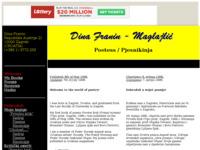 Slika naslovnice sjedišta: pjesnikinja dina franin (http://members.tripod.com/~dina_hr/index.htm)