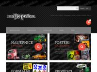 Frontpage screenshot for site: naljepnica.com (http://naljepnica.com/)