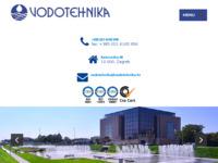 Slika naslovnice sjedišta: Vodotehnika d.d. (http://www.vodotehnika.hr/)