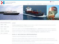 Frontpage screenshot for site: Hrvatska brodogradnja Jadranbrod d.d. (http://www.hb.hr)