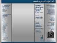 Slika naslovnice sjedišta: vjencanje.info (http://www.vjencanje.info/)