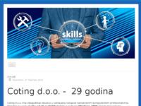 Slika naslovnice sjedišta: Coting d.o.o. (http://www.coting.hr)