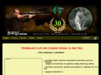 Frontpage screenshot for site: Biros - noćna optika (http://www.biros-vz.hr)