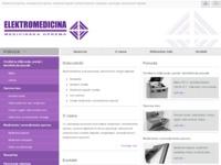 Slika naslovnice sjedišta: Elektromedicina (http://www.elektromedicina.hr)