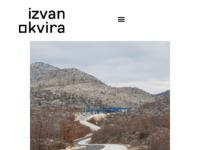 Slika naslovnice sjedišta: Arhitektura Izvan okvira (http://www.izvanokvira.hr)