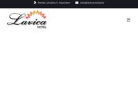 Frontpage screenshot for site: Hotel Lavica, Samobor (http://www.lavica-hotel.hr/)
