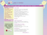 Frontpage screenshot for site: Lara i Vanda naklada (http://www.laraivanda.com)