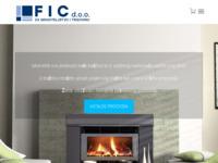 Slika naslovnice sjedišta: F.I.C. d.o.o. Zagreb - za graditeljstvo i trgovinu (http://www.fic.com.hr)
