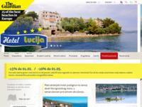Slika naslovnice sjedišta: Hotel Lucija, Posedarje (http://www.hotel-lucija.hr/)