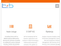 Frontpage screenshot for site: b4b d.o.o. (http://www.b4b.hr/)