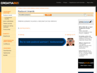 Frontpage screenshot for site: Technoclima d.o.o. (http://www.croatiabiz.com/technoclima)