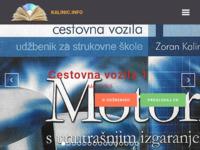 Slika naslovnice sjedišta: Kalinić: Udžbenici, softver, stručni članci (http://www.kalinic.info)