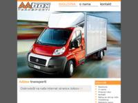 Slika naslovnice sjedišta: Aabox d.o.o. poduzeće za međunarodni prijevoz robe (http://www.aabox.hr)