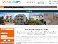 Frontpage screenshot for site: AMAR grupa (http://www.amargrupa.com)