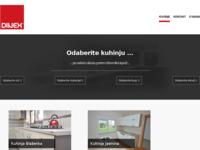 Slika naslovnice sjedišta: Dizajn i proizvodnja kuhinjskog namještaja (http://www.dinex.hr/)