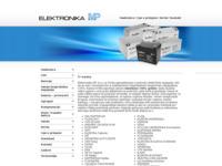 Slika naslovnice sjedišta: Elektronika MP d.o.o. (http://www.elektronika-mp.hr)