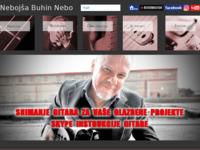 Frontpage screenshot for site: Nebojša Buhin (http://www.nebobuhin.com/)