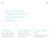 Frontpage screenshot for site: Mediterano (http://www.mediterano.hr/)