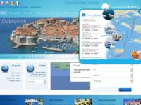 Frontpage screenshot for site: Klobuk-travel (http://www.transfers-croatia.com)