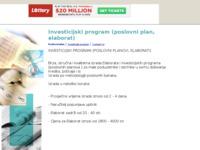 Slika naslovnice sjedišta: Poslovni plan (Investicijski program, elaborat) (http://elaborat2.tripod.com/)