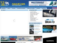 Frontpage screenshot for site: Naucat - nautički katalog (http://www.naucat.com/)