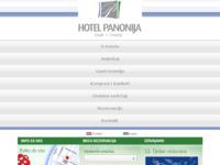 Frontpage screenshot for site: Hotel Panonija d. o. o. Sisak (http://www.hotel-panonija.hr/)
