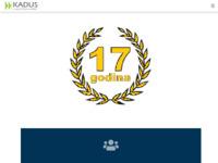 Slika naslovnice sjedišta: Kadus d.o.o. - agencija za privremeno zapošljavanje (http://www.kadus.hr/)
