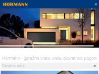 Slika naslovnice sjedišta: Hörmann Hrvatska (http://www.hormann.hr/)